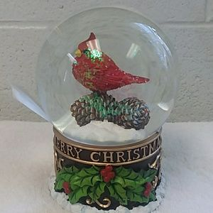 Christmas Musical Snowglobe